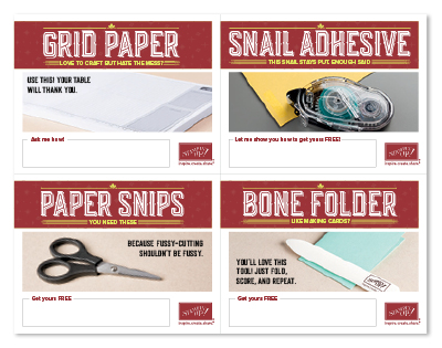Free grid paper, tape runner, scissors, bone folder and 2 clear blocks when you join my team by July 31st, 2017. Lynda Falconer, Stampin Up Demonstrator, www.crafterinspired.com