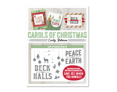 Carols of Christmas CardStamp Set