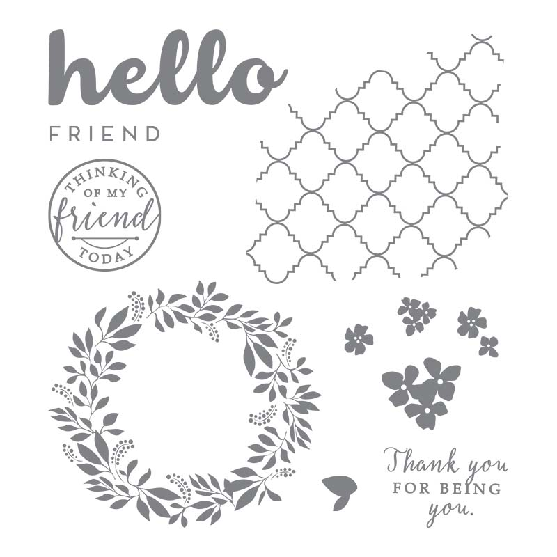 Hello Friend Stamp Set www.lyndafalconer.stampinup.net