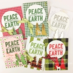 Carols of Christmas Bundle make 20 different Christmas Cards with one design by Lynda Falconer at www.lyndafalconer.stampinup.net