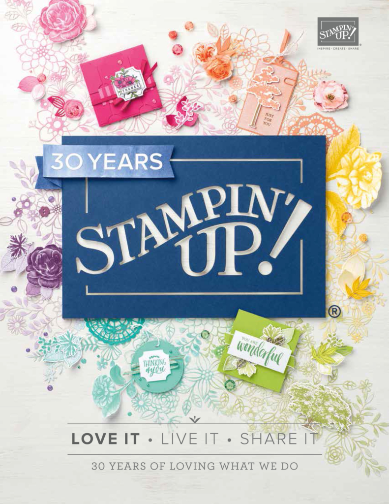 For new Stampin Up Catalog email Lynda at lynda@crafterinspired.com