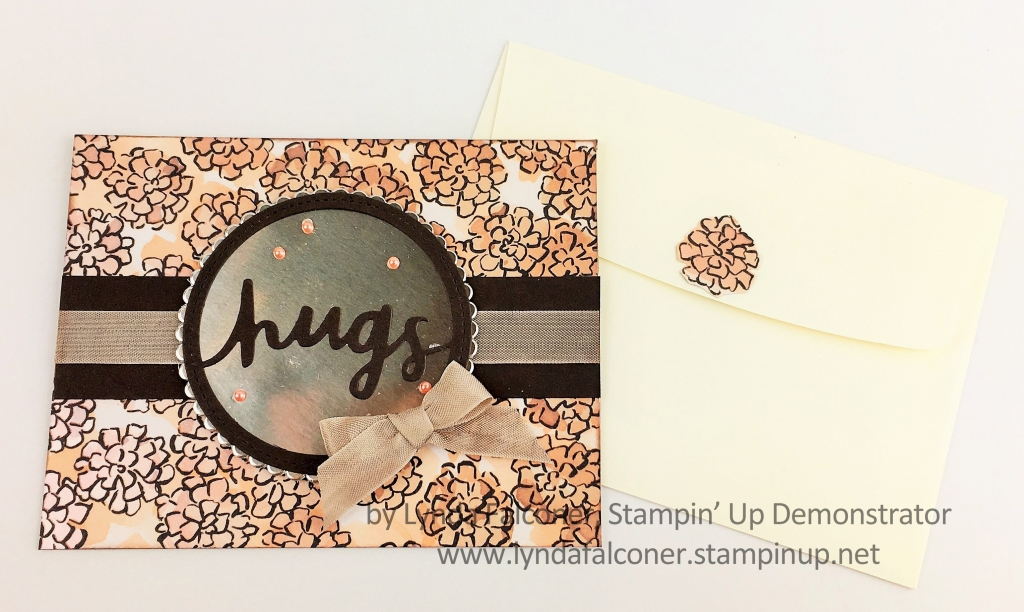 Share What You Love Card by Lynda Falconer, Independent Stampin' Up Demonstrator, www.lyndafalconer.stampinup.net
