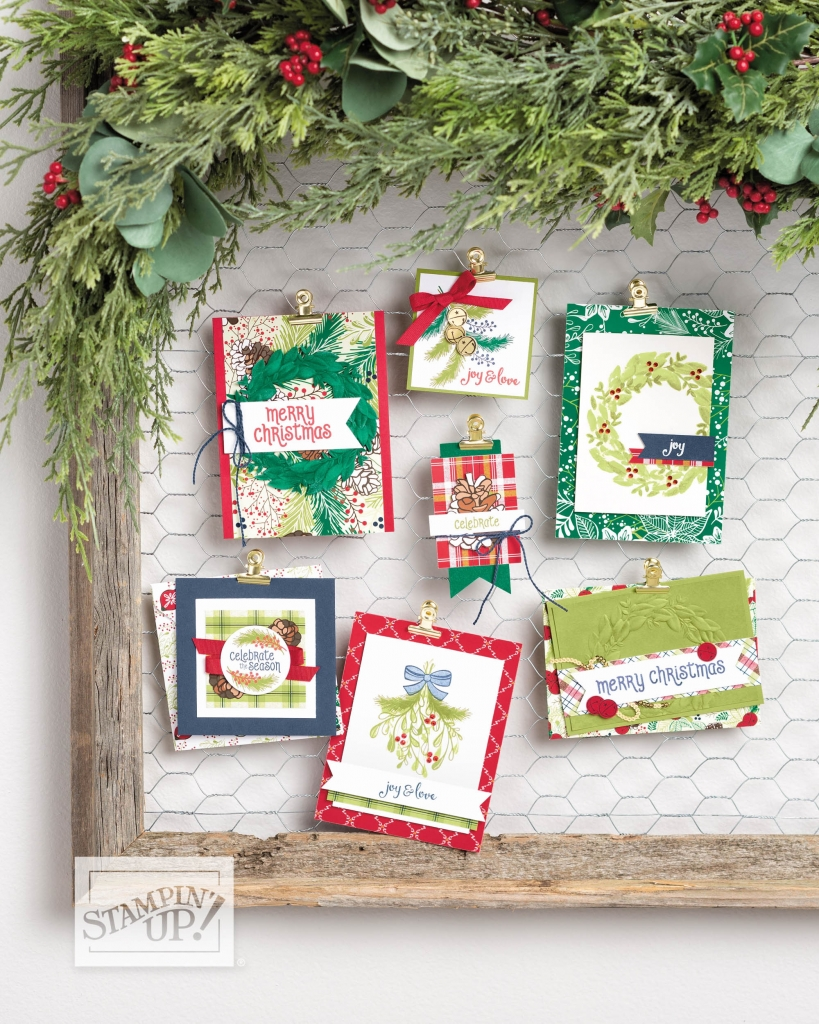 Under the Mistletoe Suite at www.lyndafalconer.stampinup.net
