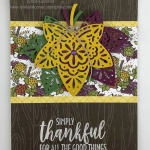 October Stamp Club – Simply Thankful Fall Cards