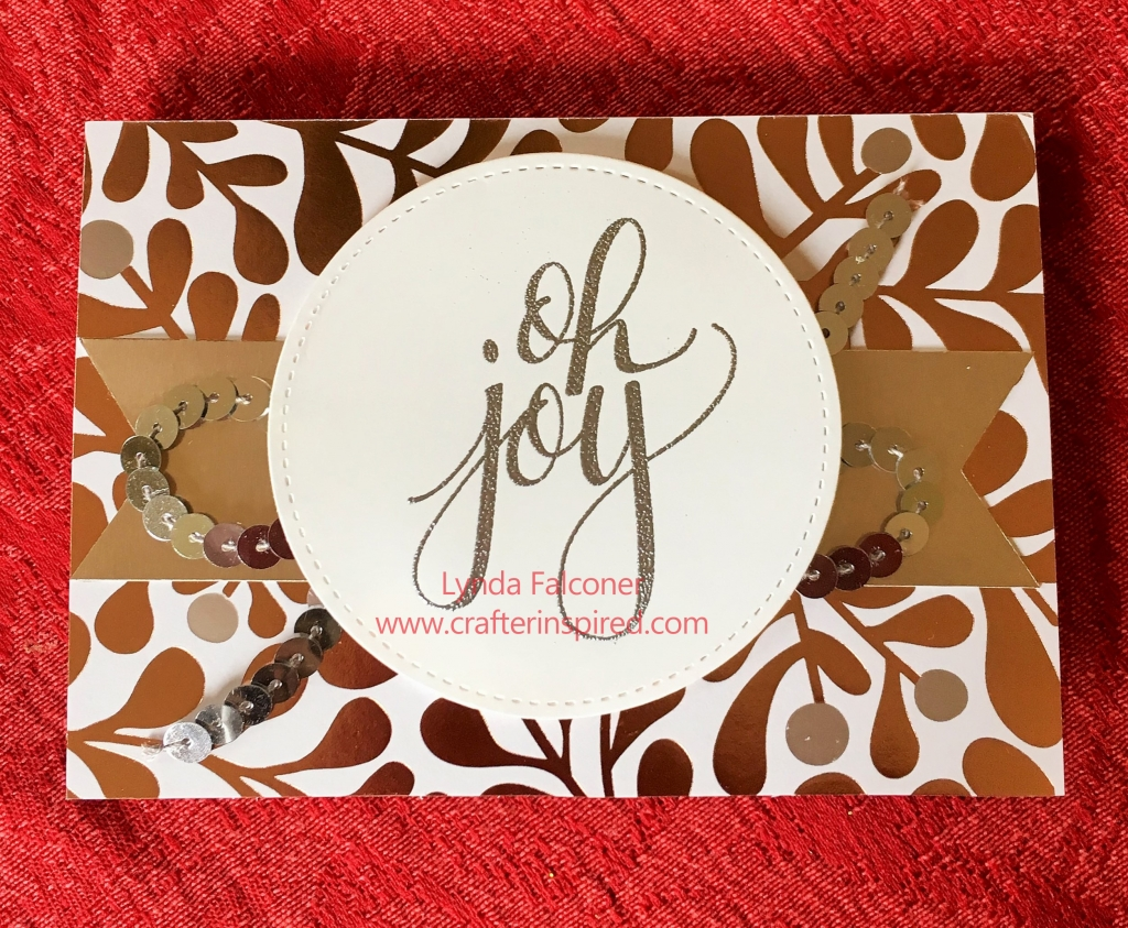 Made with Watercolor Christmas Wood-Mount Stamp Set #144835 (retired) on sale now at www.crafterinspired.com/bogo