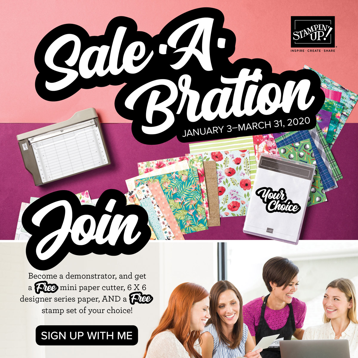 Sale-A-Bration Gifts for new demonstrators